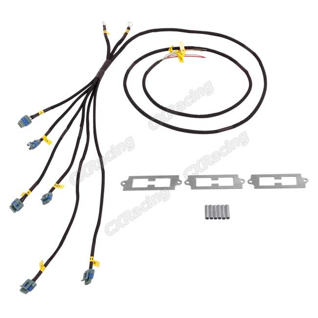 LQ9 Ignition Coil Packs Bracket Wire Harness Kit For 2JZ-GTE 2JZGTE