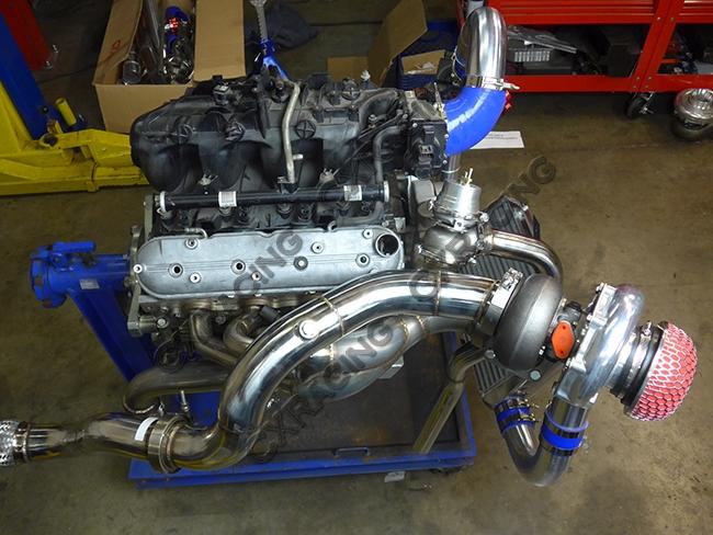 Turbo Intercooler kit For 99-07 Chevrolet Silverado GMT 800 Vortec