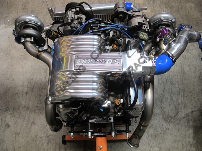 Twin Turbo Kit For 79-93 Ford FoxBody Mustang 50L Dual GT35 900 HP
