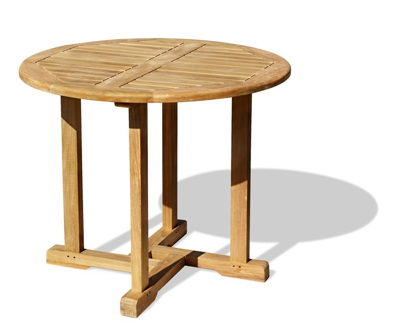 Canfield Teak Small Round Garden Table 08m