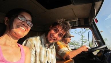 Foto di dalam truk
