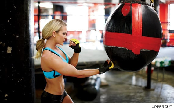 Nicole Wilkins' Calorie-Blasting Boxing Workout