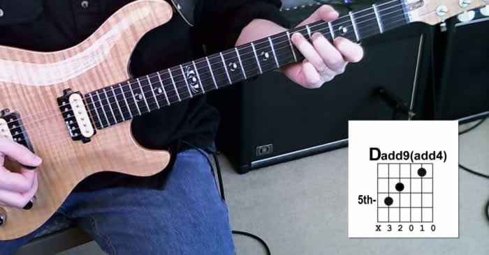 One of the Cool Chords - Dadd9(add4)