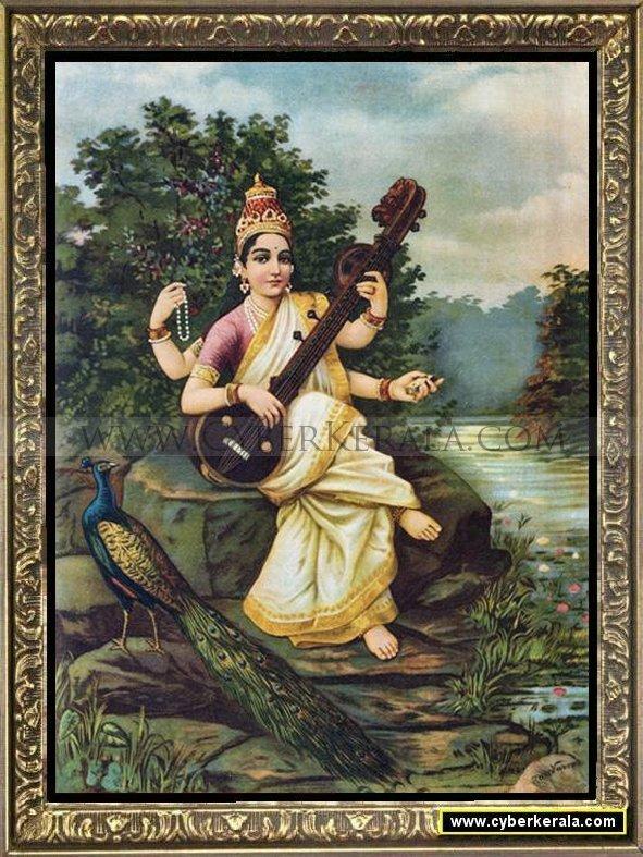 Narendra 3d Wallpaper The Design Enthusiast An Ode To Raja Ravi Varma