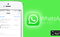 WhatsApp for iOS 7
