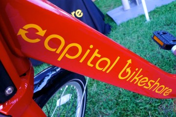 Capital Bikeshare downtube