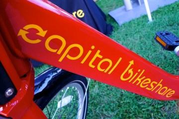 Capital Bikeshare downtube