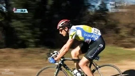 Cycleboredom   Screencap Recap: Montepaschi Strade Bianchi - Club Rider On Course