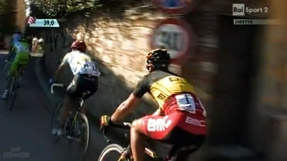 Cycleboredom | Screencap Recap: Montepaschi Strade Bianchi - The Gilbertto