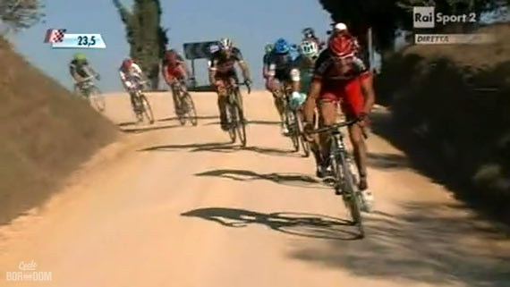 Cycleboredom | Screencap Recap: Montepaschi Strade Bianchi - GVA Likes To Move It, Move It