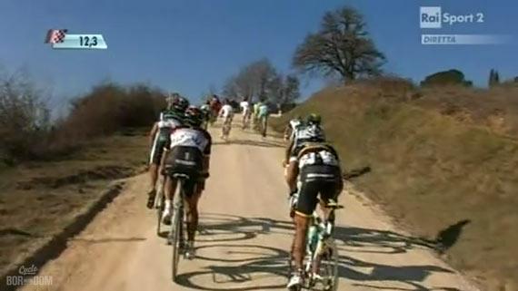 Cycleboredom | Screencap Recap: Montepaschi Strade Bianche - Van Avermaet Attack