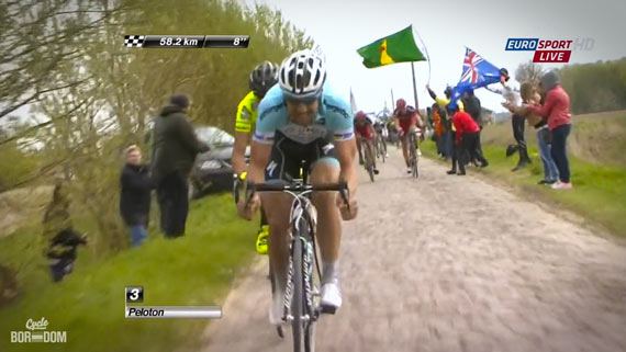 Cycleboredom | Screencap Recap: Paris-Roubaix - Boonen Attacks