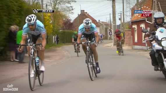 Cycleboredom | Screencap Recap: Paris-Roubaix - Ballan's Response