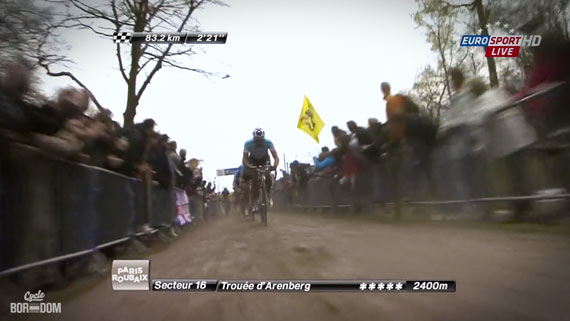 Cycleboredom | Screencap Recap: Paris-Roubaix - No Height Advantage