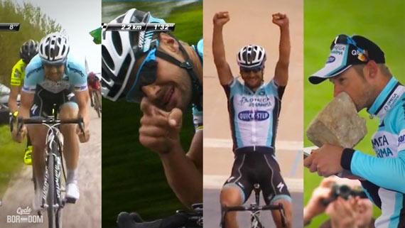 Cycleboredom | Screencap Recap: Paris-Roubaix - Tommeke! Tommeke! Tommeke!