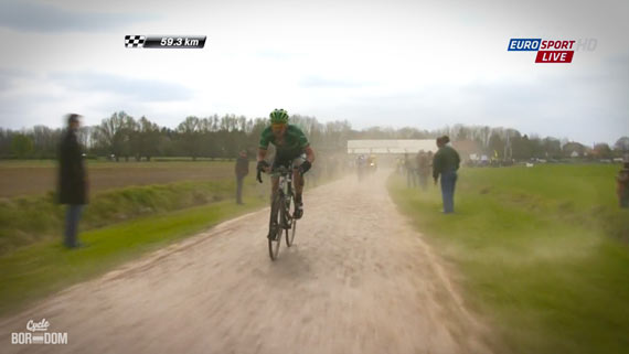 Cycleboredom | Screencap Recap: Paris-Roubaix - Turgot Again