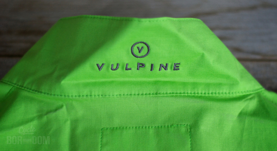 Cycleboredom | First Look: Vulpine Cotten Visibility Gilet - Collar