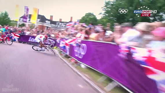 Cycleboredom | Screencap Recap: Men's Olympic Road Race - Fabscrash