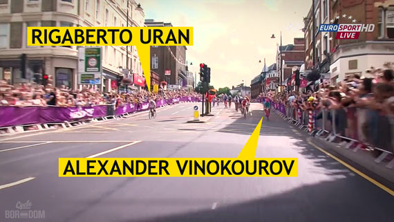 Cycleboredom | Screencap Recap: Men's Olympic Road Race - The Moment