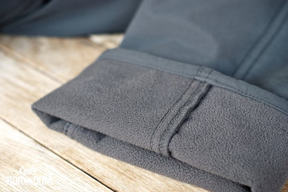 What I'm Riding: swrve Softshell Trousers | Cycleboredom - Fleece Lining