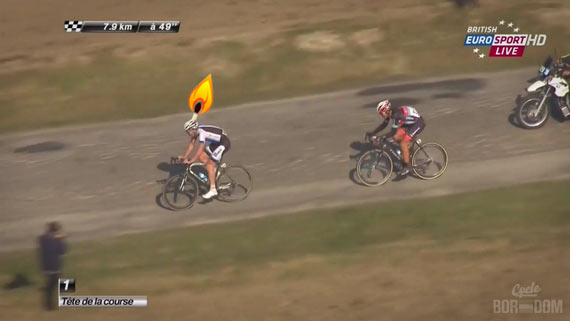 Screencap Recap: Paris-Roubaix 2013 - Sep Burning Matches