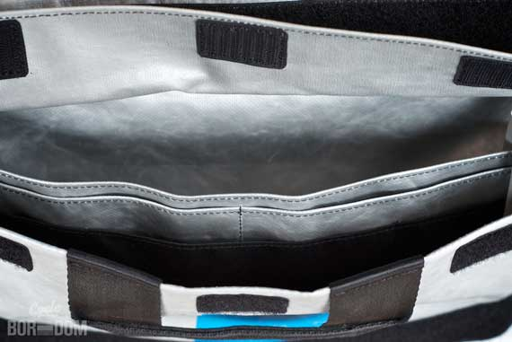 First Look: Freitag F18 Rex Messenger Bag - Inner Flap Pockets
