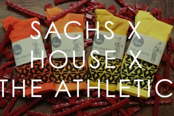 Released: The Athletic Richard Sachs x House Industries Team Sock