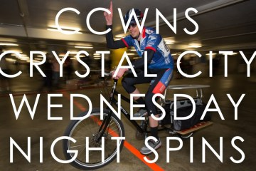 Crystal City Wednesday Night Spins - Week 4 Cargo/Tandem/Bikeshare Race