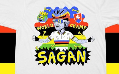 Shirt of the Week: Manual For Speed Sagan World Champ T-Shirt