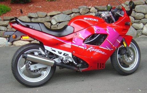 Suzuki Katana GSX600F GSX750F Service Manual - Cyclepedia