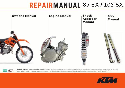 ktm service manuals online