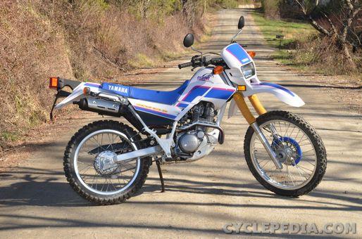XT225 Serow Yamaha Motorcycle Service Manual - Cyclepedia