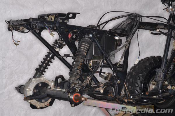 Bayou 220 250 KLF220 KLF250 Kawasaki Service Manual - Cyclepedia
