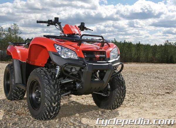 KYMCO MXU 375  MXU 400 ATV Online Service Manual - Cyclepedia