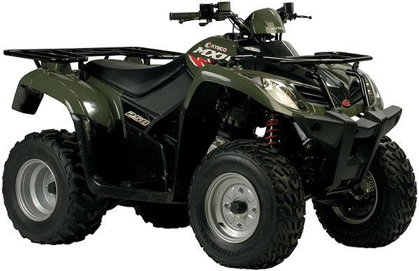 KYMCO MXU 250 ATV Online Service Manual - Cyclepedia