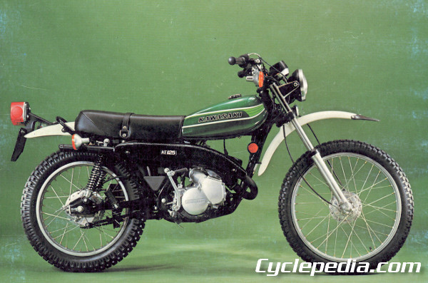 Kawasaki KS125 KE125 1974 \u2013 1985 Motorcycle Online Repair Manual