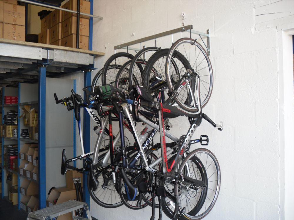 Cyclestore 6 Bike Pro Wall Hanging Rack 6999 Storage