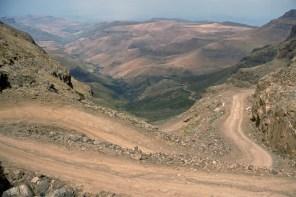 Up the Sani pass