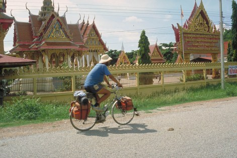 cycling along the temples
