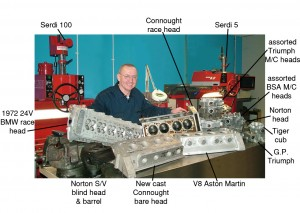 Len Paterson and SERDI for the Cylinder Head Shop