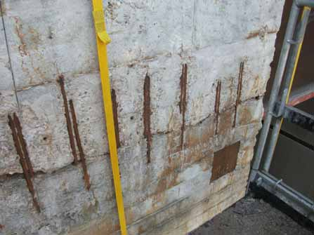Morteros de reparación con inhibidores de corrosión 07