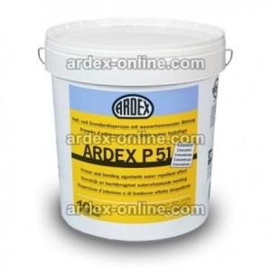 ARDEX P51 - envase 10 kg Imprimación para sellado de todo tipo de soportes porosos. Evita la subida de burbujas y deshidratación de los morteros en pavimentos. Sin disolventes.