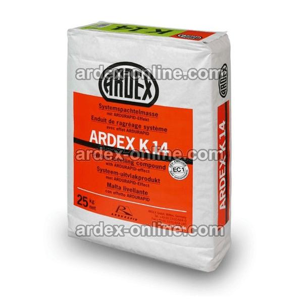 ARDEX K14 - Mortero autonivelante rápido