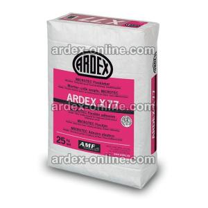 ARDEX X77 - Cemento cola flexible para materiales poco porosos