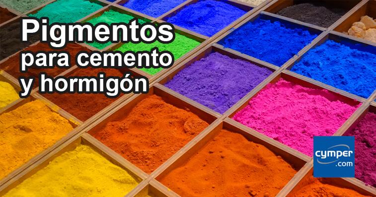 Pigmento para cemento y hormigón
