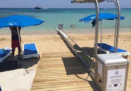 Accessible Beach Yianna Mari Protaras