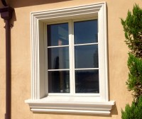 Decorative Window Molding. Best Perfect Dressing Your ...