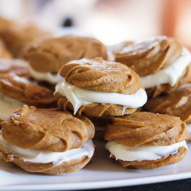 Pumpkin Cookies with Cream Cheese Filename-3