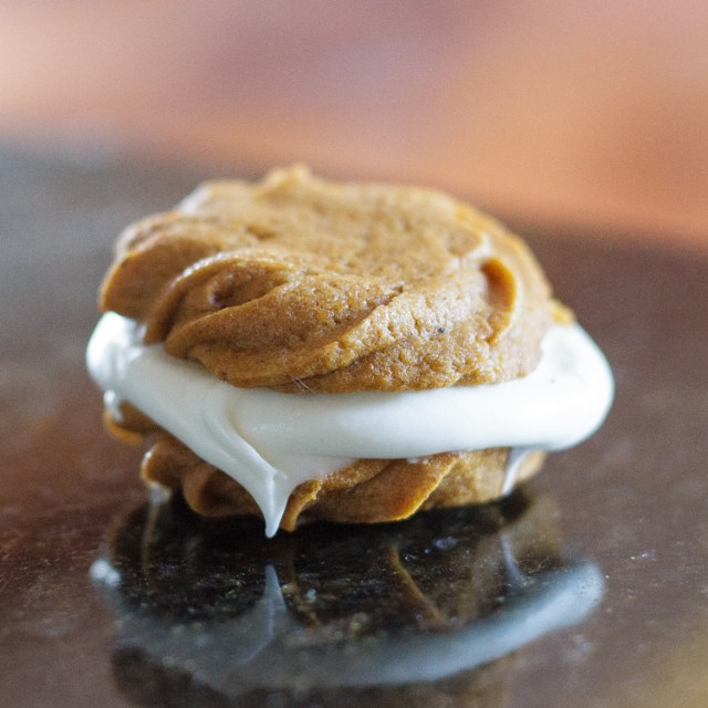 Pumpkin Cookies with Cream Cheese Filename-4