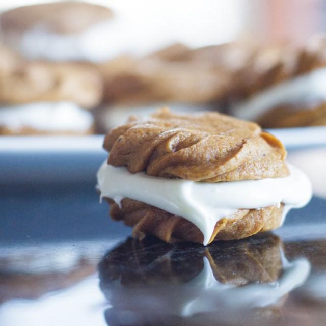 Pumpkin Cookies with Cream Cheese Filename-5